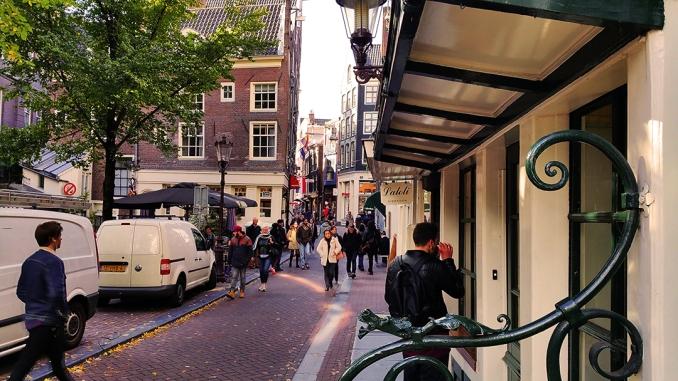 Visita las nueves calles en Amsterdam