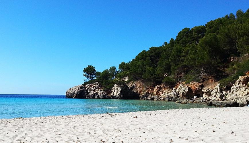 La cala mas bonita de Menorca
