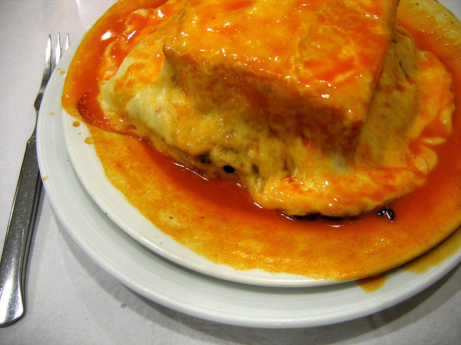 Un plato típico de Oporto.