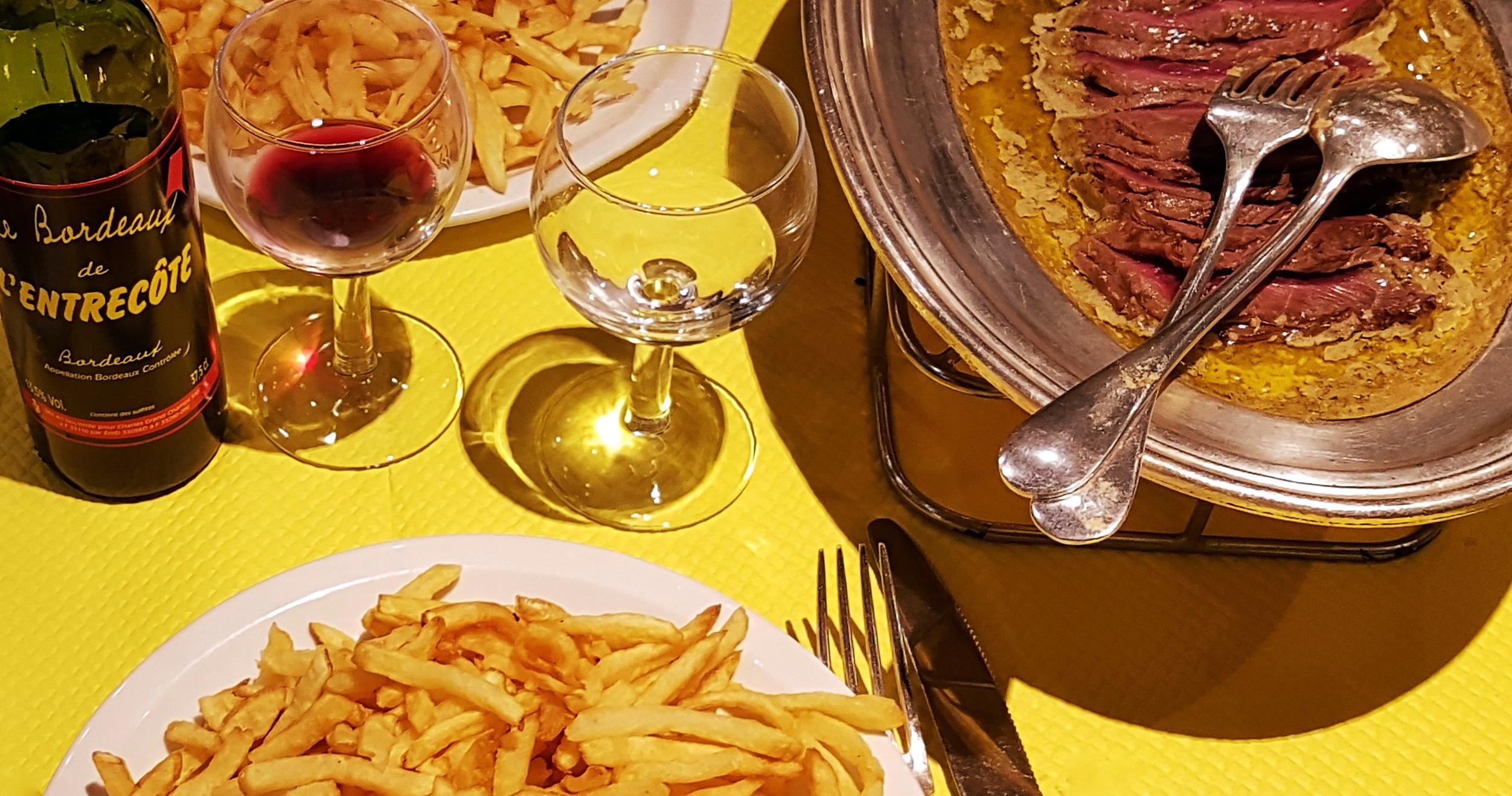 El restaurante mas famosos de Burdeos.