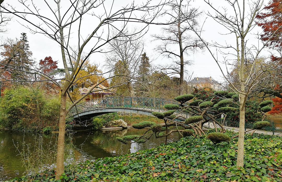 Jardínes públicos de Burdeos.