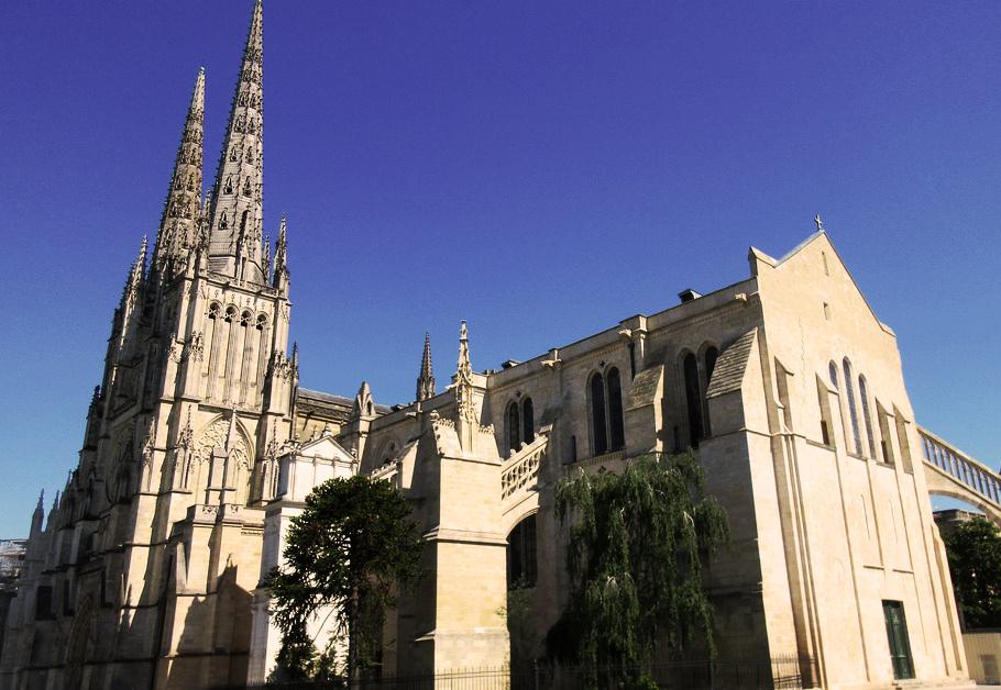 Catedral de Burdeos. Plaza de Pey Berland.