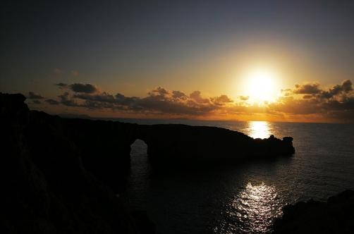El atardecer ma bonito de Menorca.