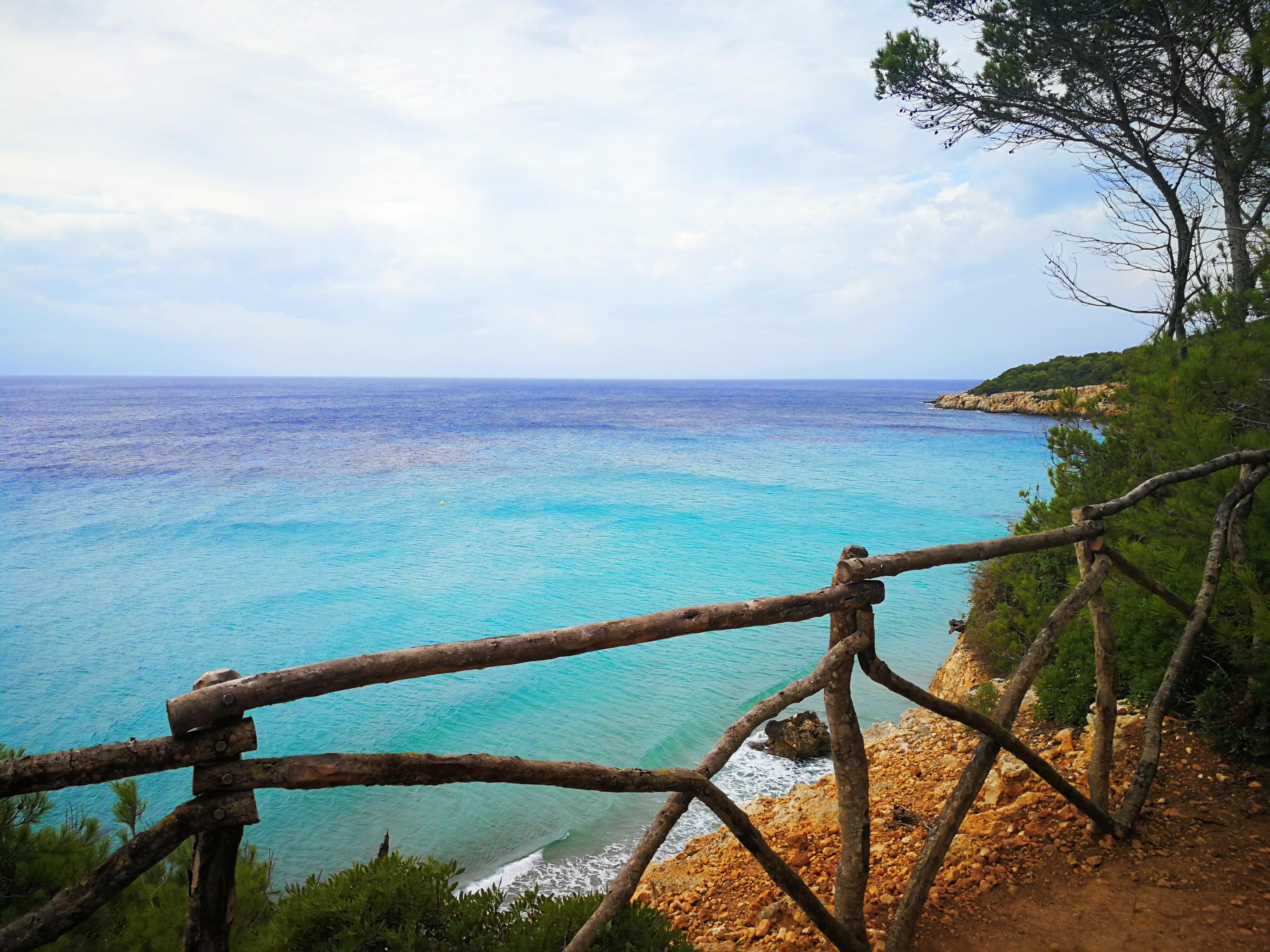 Costa sur de Menorca.