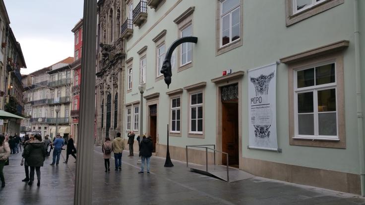Calle Histórica del centro de Oporto.