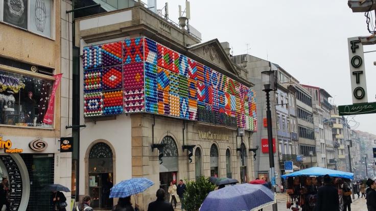 De compras en Oporto.