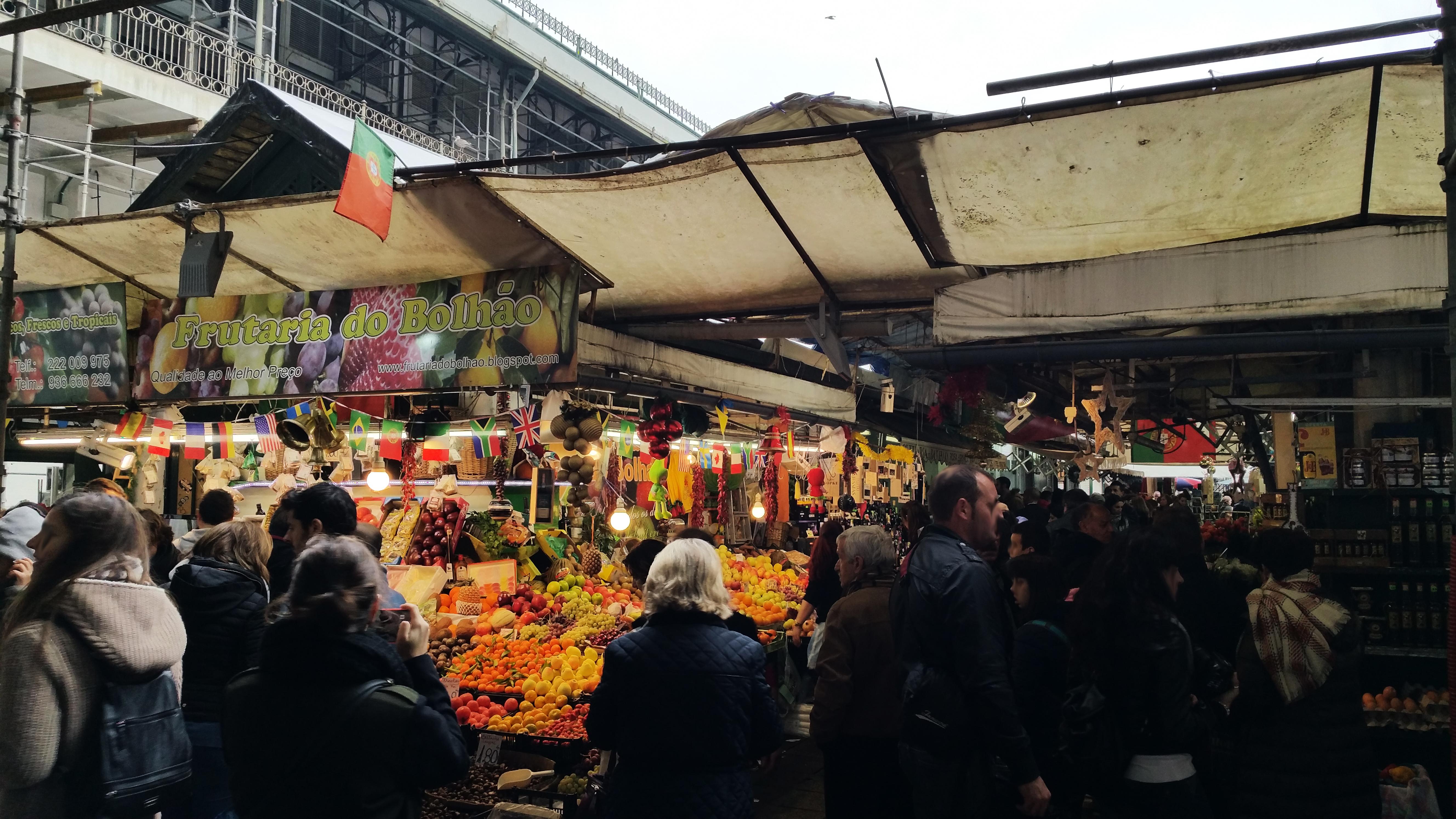 Mercado mas antiguo de Oporto.