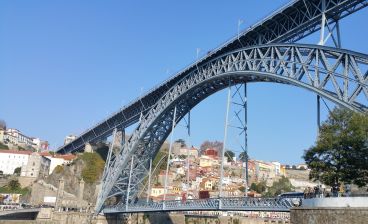 El símbolo de la ciudad de Oporto.