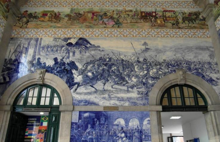 Tienes que visitar esta estación de Oporto.