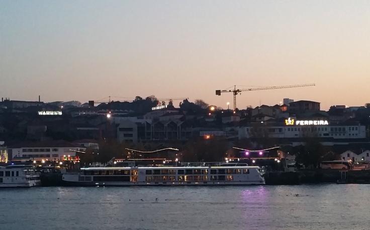 Zona de las bdegas de Oporto.