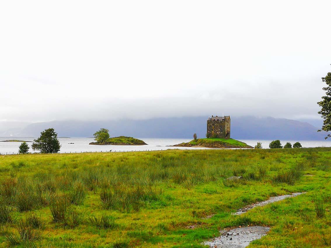 Escocia por libre, Castle Stalker