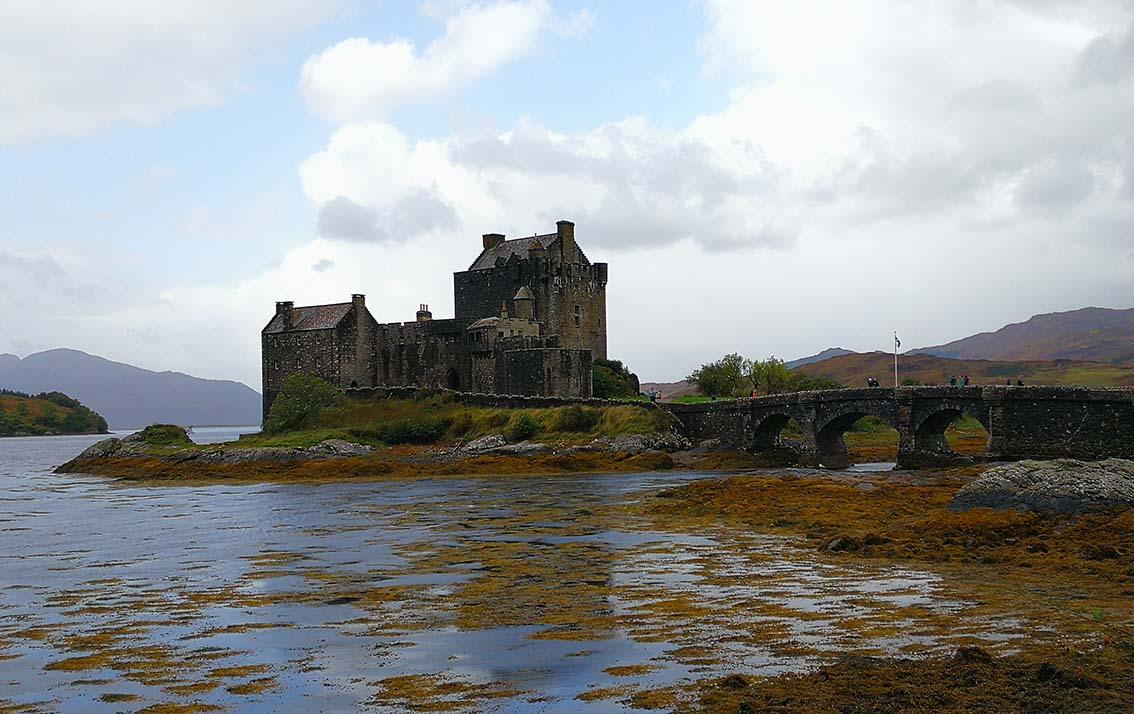 Escocia por libre, castillo de Eilean Donan
