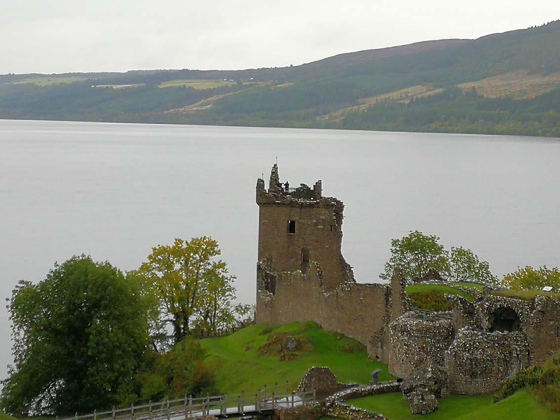 Visita el Lago ness por libre en Escocia