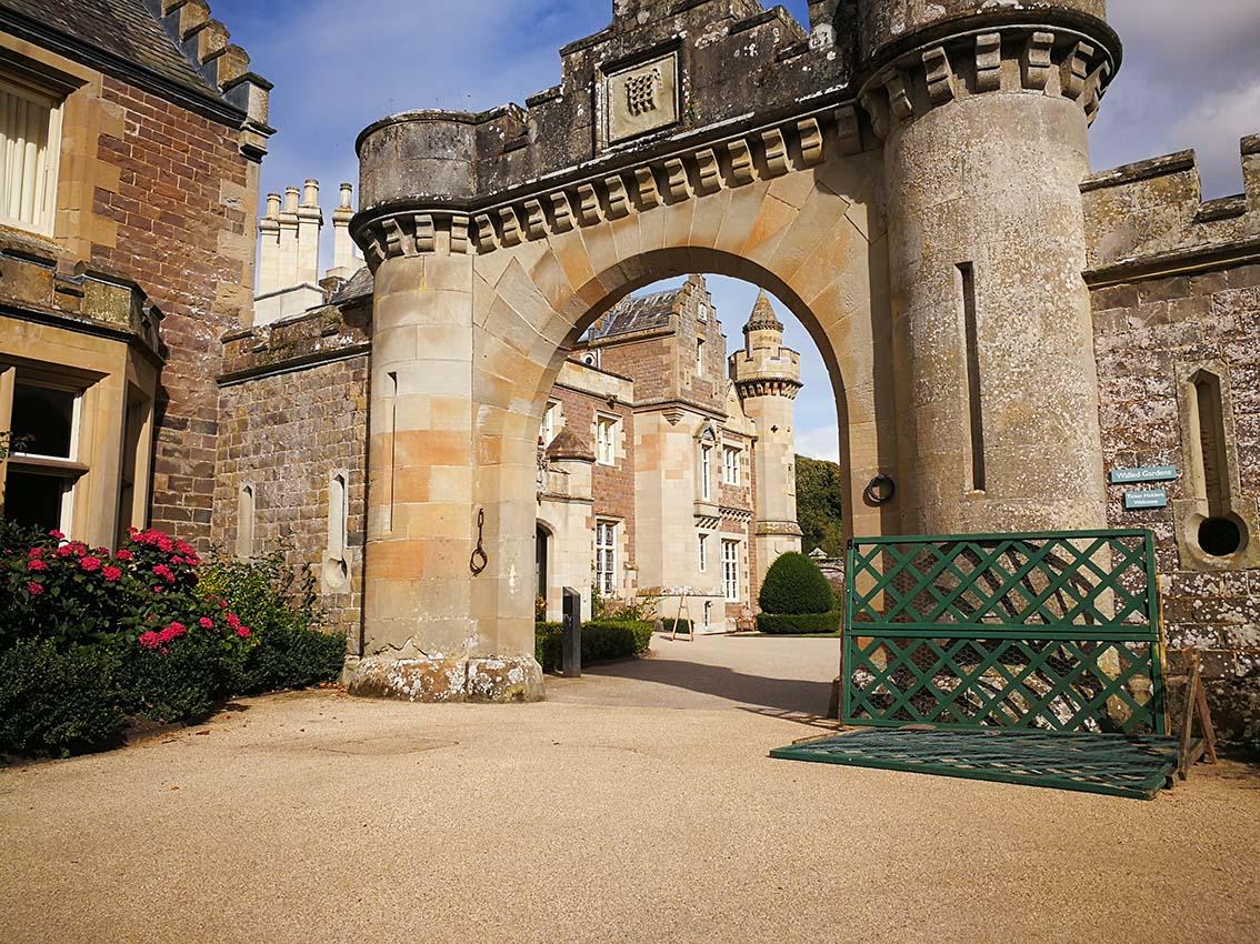 Escocia por libre, castillo de Abbosford