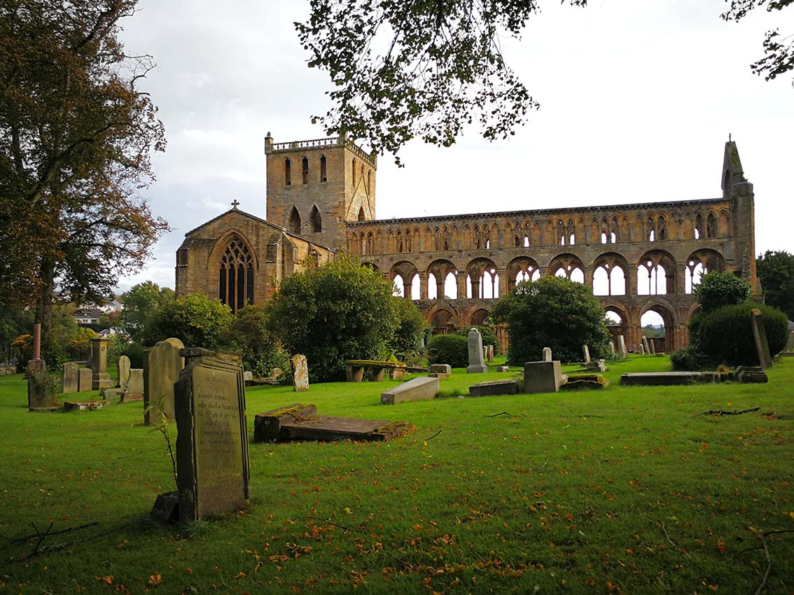 Jedburgh Abbey, imprescindible en un viaje a Escocia por libre