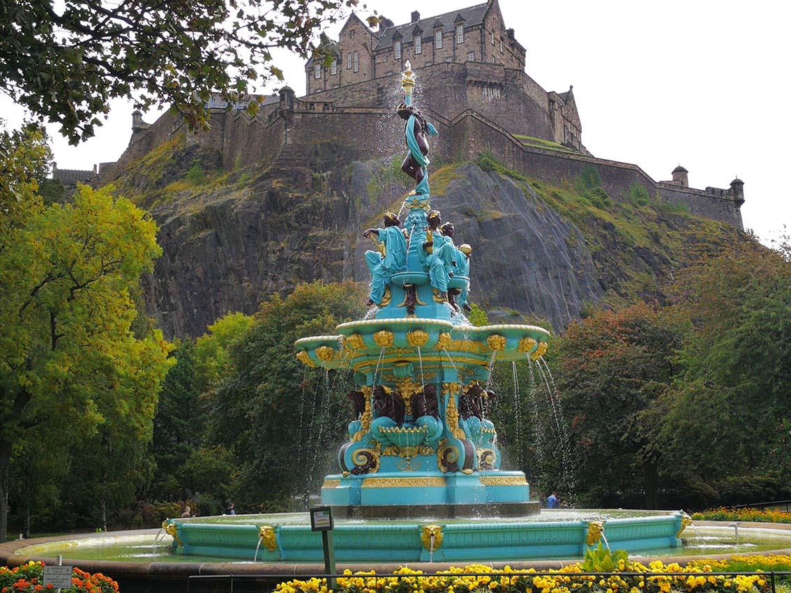 Visita Edimburgo por libre en Escocia